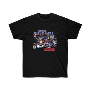 Super Marvel Kart Graphic T Shirt