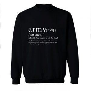ARMY Definition Sweatshirt