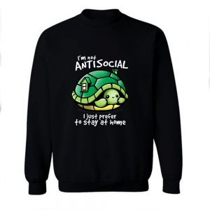 Anti Social Club Turtle Sweatshirt