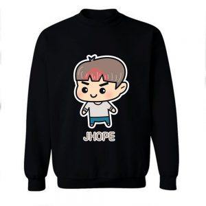 BTS J Hope Chibi Cartoon Sweatshirt