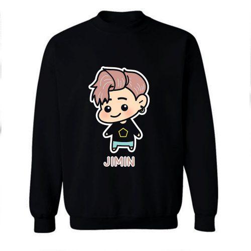 BTS Jimin Chibi Sweatshirt