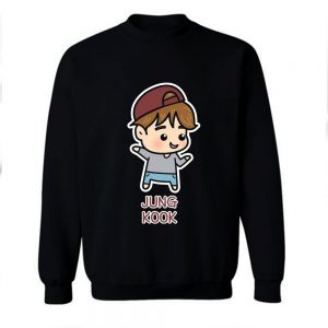 BTS Jungkook Chibi Cartoon Sweatshirt
