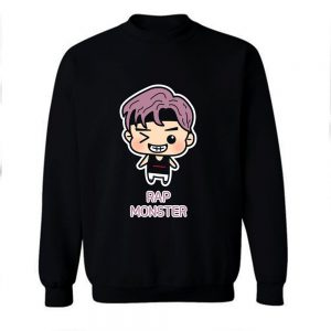 BTS Rapmon Chibi Cartoon Sweatshirt