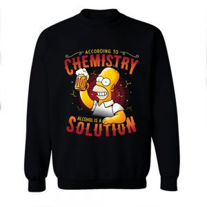 Beer Chemistry The Simsons Sweatshirt