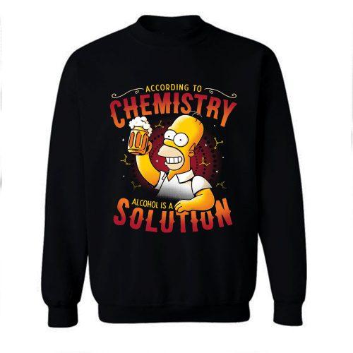 Beer Chemistry The Simsons Sweatshirt