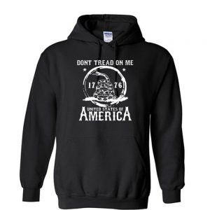 DONT TREAD On Me 1776 United States of America Unisex Hoodie