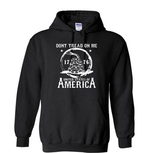 DONT TREAD On Me 1776 United States of America Unisex Hoodie