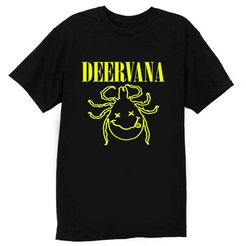 Deervana Nirvana Parody T Shirt