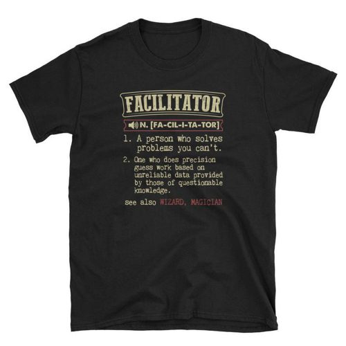Facilitator Definition T Shirt