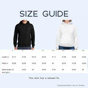 Hoodie Size Guide Putshirt