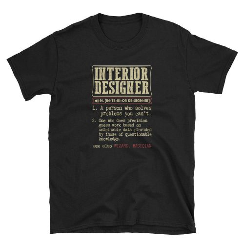 Interior Designer Definition T Shirt