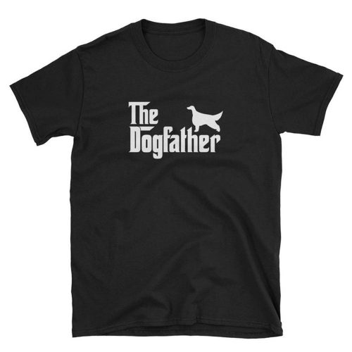 Irish Setter Dogfather Tee T Shirt