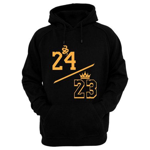 Kobe 24 LeBron 23 Hoodie