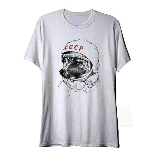 Laika Space Traveler T Shirt