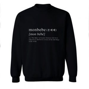 Monbebe Definition Sweatshirt