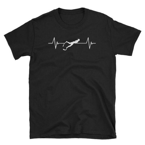 Snorkeling Heartbeat T Shirt