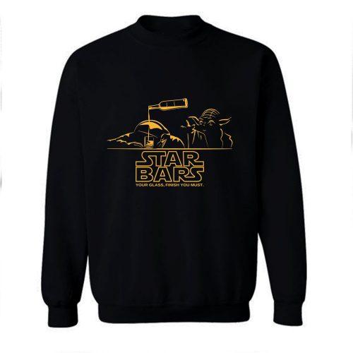 Star Bars Parody Star Wars Sweatshirt