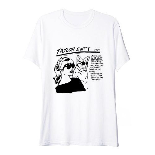 Taylor Swift Sonic Youth Parody T Shirt