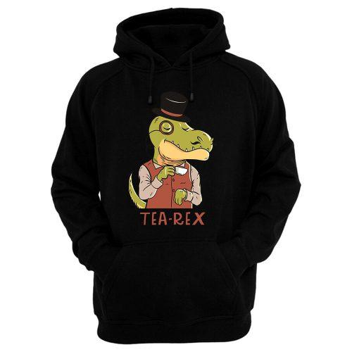 Tea Rex Funny Hoodie