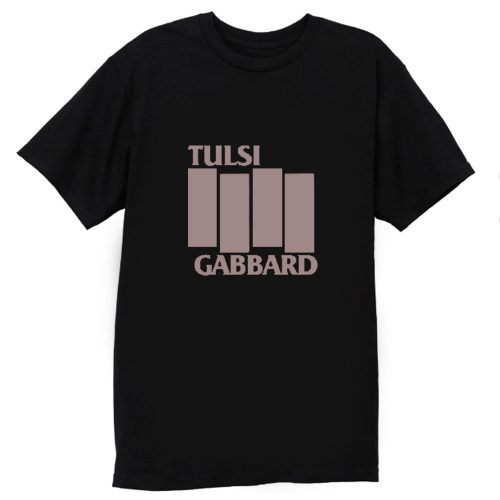 Tulsi Gabbard Black Flag T Shirt