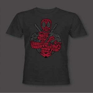 Valentines DeadPool Tshirt