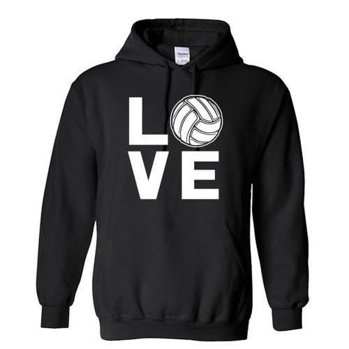 Volleyball Love Unisex Hoodie