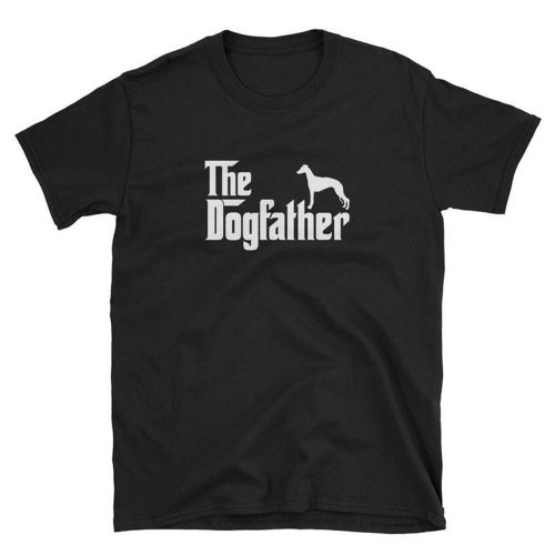 Whippet Dogfather T Shirt