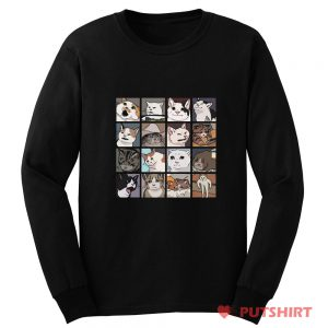 Cats Meme Long Sleeve