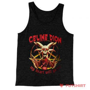 Celine Dion Metal Tank Top