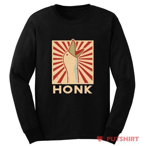 Honk Japan Logo Long Sleeve