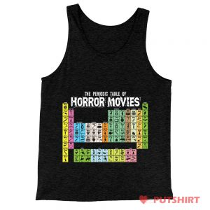 Horror Movie Periodic Table Tank Top