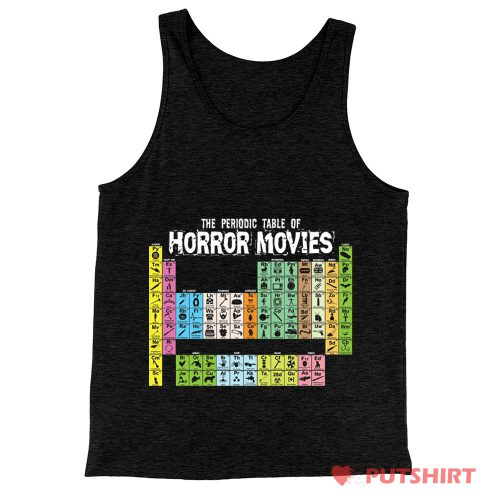 Horror Movie Periodic Table Tank Top
