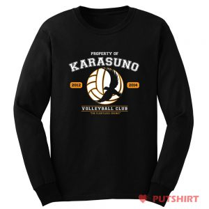 Karasuno Volleyball Team Long Sleeve