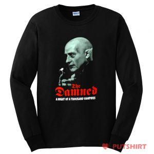 THE DAMNED Night of a Thousand Vampires Long Sleeve