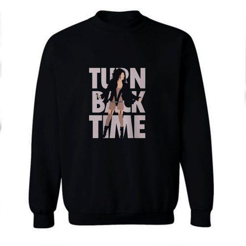 Turn Back Time Cher Classic Sweatshirt