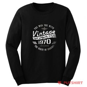 Vintage 1970 Long Sleeve