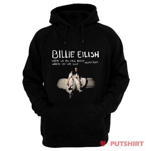 Billie Eilish T Shirt Where Do We Go World Tour Hoodie