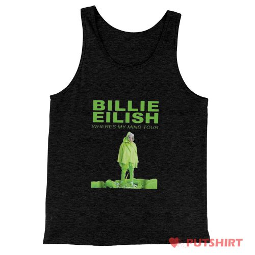 Billie Eilish Where Is My Mind Tourbillie Tank Top
