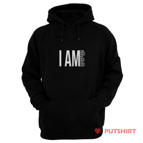 I Am Christian Quote Hoodie