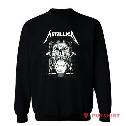 Metallica Death Magnetic Album Sweatshirt