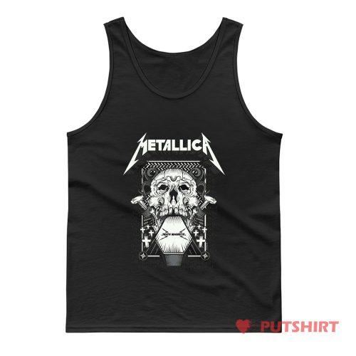 Metallica Death Magnetic Album Tank Top