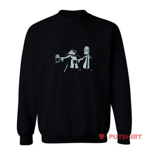 Sin Simsons Take A Beer Sweatshirt