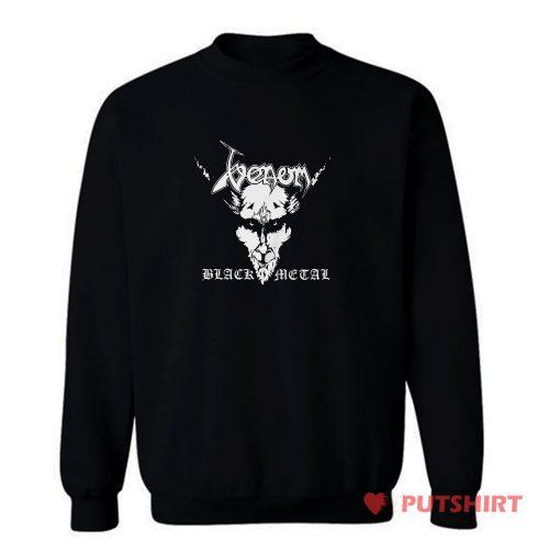Venom Black Metal English heavy Metal Band Sweatshirt