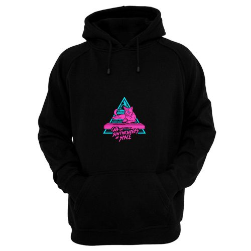 Cats On Synthesizers In Space Hoodie