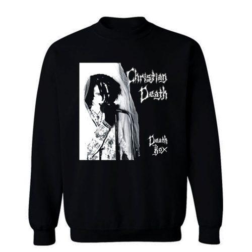 Christian Death Death Box Sweatshirt