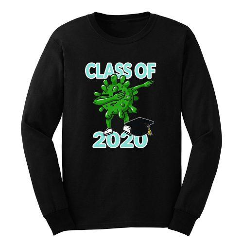 Class Of 2020 Dabbing Pandemic Graduation Quarantine Long Sleeve