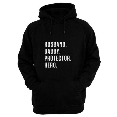 Dad Hero Husband Hoodie