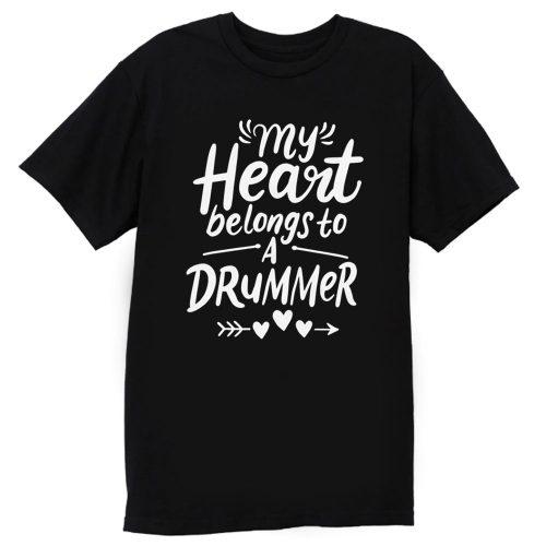 Drummer Girlfriend T Shirt