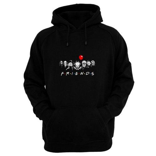 Friends Horror Movie characters Hoodie