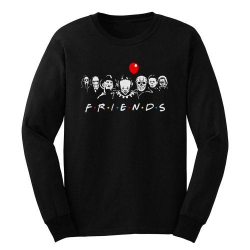 Friends Horror Movie characters Long Sleeve